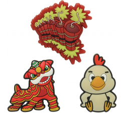Chinese New Year 2017  3-pack