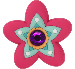 Odznačik Jibbitz - Rhinestone Citrus Flower
