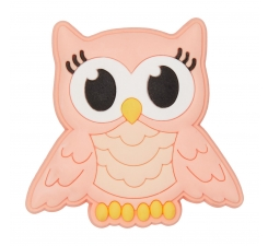 Odznačik Jibbitz - Pink Night Owl