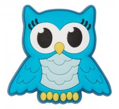 Odznačik Jibbitz - Turquoise Night Owl