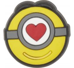 Odznačik Jibbitz - Minions Stuart Love Icon