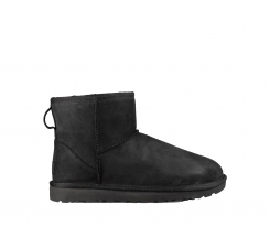 Topánky UGG Classic Mini Leather Black