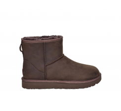Topánky UGG Classic Mini Leather Chocolate