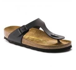 Čierne papuče Birkenstock Gizeh Birko-Flor