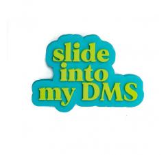 Odznačik Jibbitz - DM Me