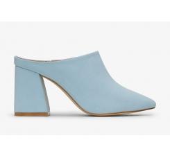 b3b929a41a3a Modré dámske topánky na podpätku Matt   Nat Joan