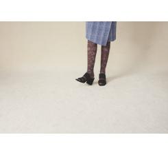 de16b923ae8b Dámske hnedé pančuchy Happy Socks Sophia    kolekcia Hysteria