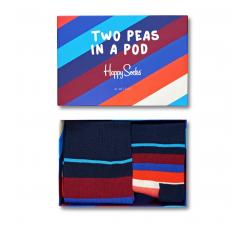 Darčekový box ponožiek Happy Socks, Two Peas In A Pod - 2 páry