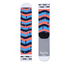Farebné ponožky Happy Socks X MONTANA CANS // kolekcia Athletic