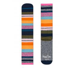Farebné ponožky Happy Socks, vzor Multi Stripes