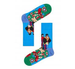 Farebné ponožky Happy Socks se vzorom Pepperland x The Beatles