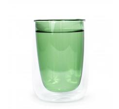 Zelený termo pohár Fundamental Berlin Doppler Glass