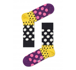 Farebné ponožky Happy Socks s bodkami, vzor Dot Split - 2011 // 10 YEARS ANNIVERSARY