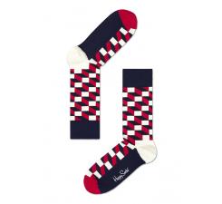 Farebné ponožky Happy Socks se vzorom Filled Optic