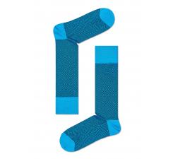 Tyrkysové ponožky Happy Socks, vzor Goose Eye // kolekcia Dressed