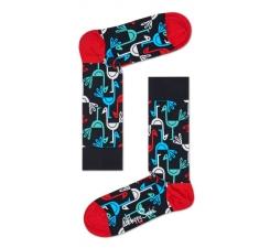 Farebné ponožky Happy Socks s vtákmi X Iris Apfel
