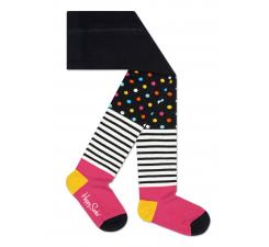 Detské barevné pančuchy Happy Socks, vzor Stripe Dot