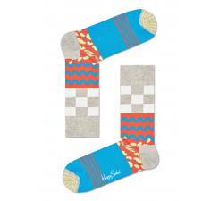 Farebné ponožky Happy Socks s rôznymi motívmi, vzor Mix Max