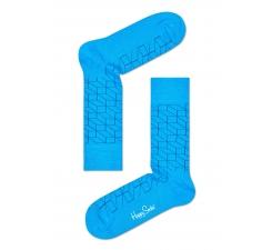 Modré ponožky Happy Socks so vzorom Optic