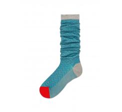 Dámske svetlomodré ponožky Happy Socks Alma // kolekcia Hysteria