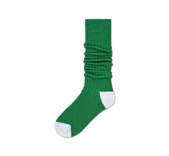 Dámske zelené podkolienky Happy Socks Cilla // kolekcia Hysteria