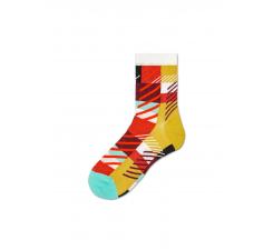 Dámske žlté ponožky Happy Socks Emma // kolekcia Hysteria