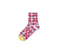 Dámske červené teplé ponožky Happy Socks Emilia // kolekcia Hysteria