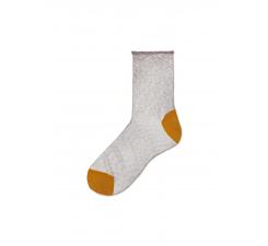 Dámske šedé ponožky Happy Socks Emma // kolekcia Hysteria