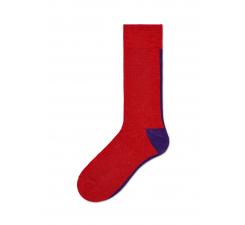 Dámske červené ponožky Happy Socks Gigi // kolekcia Hysteria