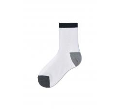 Dámske biele ponožky Happy Socks Grace // kolekcia Hysteria