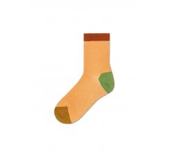 Dámske žlté ponožky Happy Socks Grace I // kolekcia Hysteria