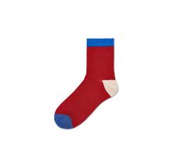 Dámske červené ponožky Happy Socks Grace // kolekcia Hysteria