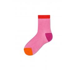Dámske ružové ponožky Happy Socks Grace I // kolekcia Hysteria