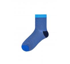Dámske modré ponožky Happy Socks Grace I // kolekcia Hysteria