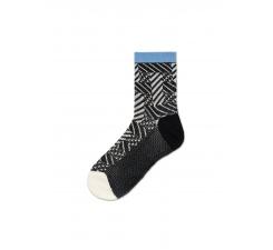 Dámske čiernobiele ponožky Happy Socks Greta // kolekcia Hysteria