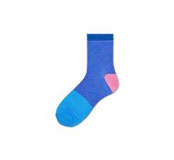Dámske modré ponožky Happy Socks Jill // kolekcia Hysteria