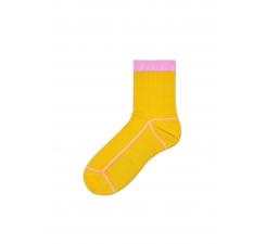 Dámske žlté ponožky Happy Socks Lily // kolekcia Hysteria