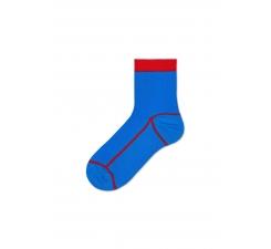 Dámske modré ponožky Happy Socks Lily // kolekcia Hysteria