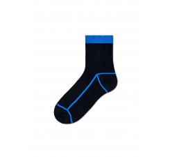 Dámske čierne ponožky Happy Socks Lily // kolekcia Hysteria