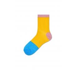 Dámske žlté ponožky Happy Socks Liza // kolekcia Hysteria