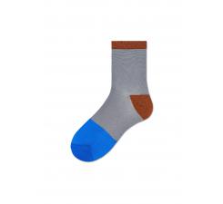 Dámske šedé ponožky Happy Socks Liza // kolekcia Hysteria