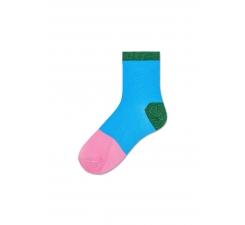 Dámske svetlo modré ponožky Happy Socks Liza // kolekcia Hysteria