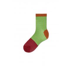 Dámske zelenočierné ponožky Happy Socks Liza // kolekcia Hysteria