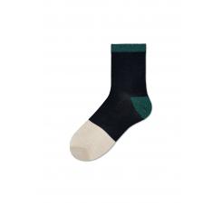 Dámske čierne ponožky Happy Socks Liza // kolekcia Hysteria