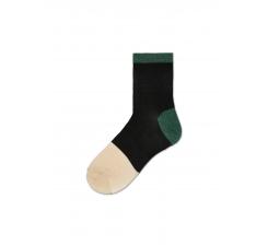 Dámske čierné ponožky Happy Socks Liza // kolekcia Hysteria