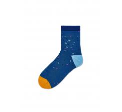 Dámske modré ponožky Happy Socks Lola // kolekcia Hysteria