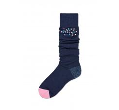 Dámske tmavomodré podkolienky Happy Socks Madda // kolekce Hysteria
