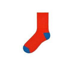Dámske oranžové ponožky Happy Socks Marina // kolekcia Hysteria