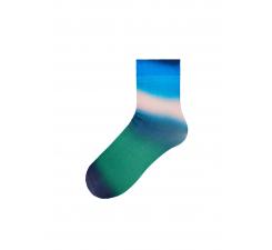 Dámske zeleno-modré ponožky Happy Socks Mia // kolekcia Hysteria