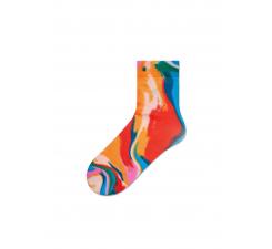 Dámske pestrofarebné ponožky Happy Socks Mia // kolekcia Hysteria